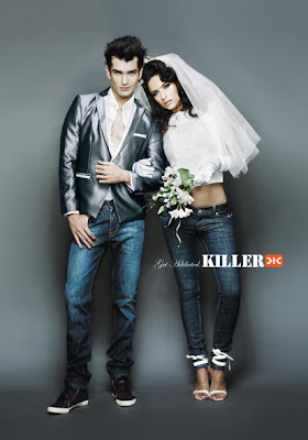 clothing brand killer jeans ad slogans