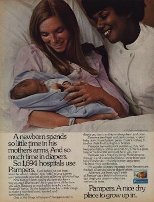 1970s best pamper ad