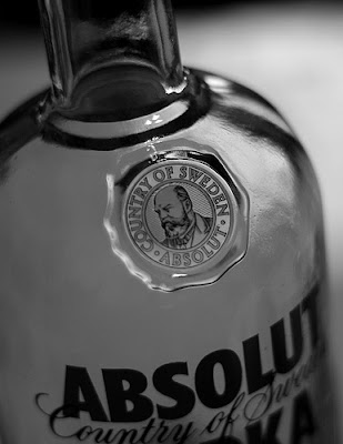 absolut vodka ad photo