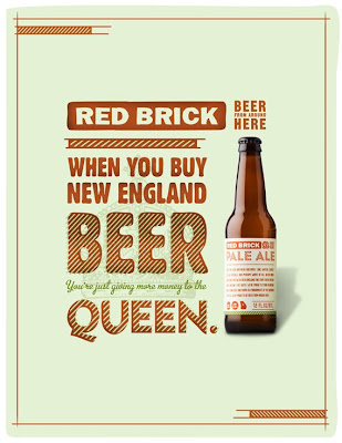 Red Brick. Beer commercial
