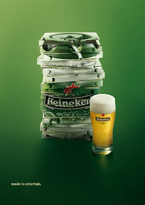 Heineken adverts Italy