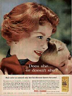 Foote, Cone and Belding (FCB) first created the Clairol advertising catchphrase