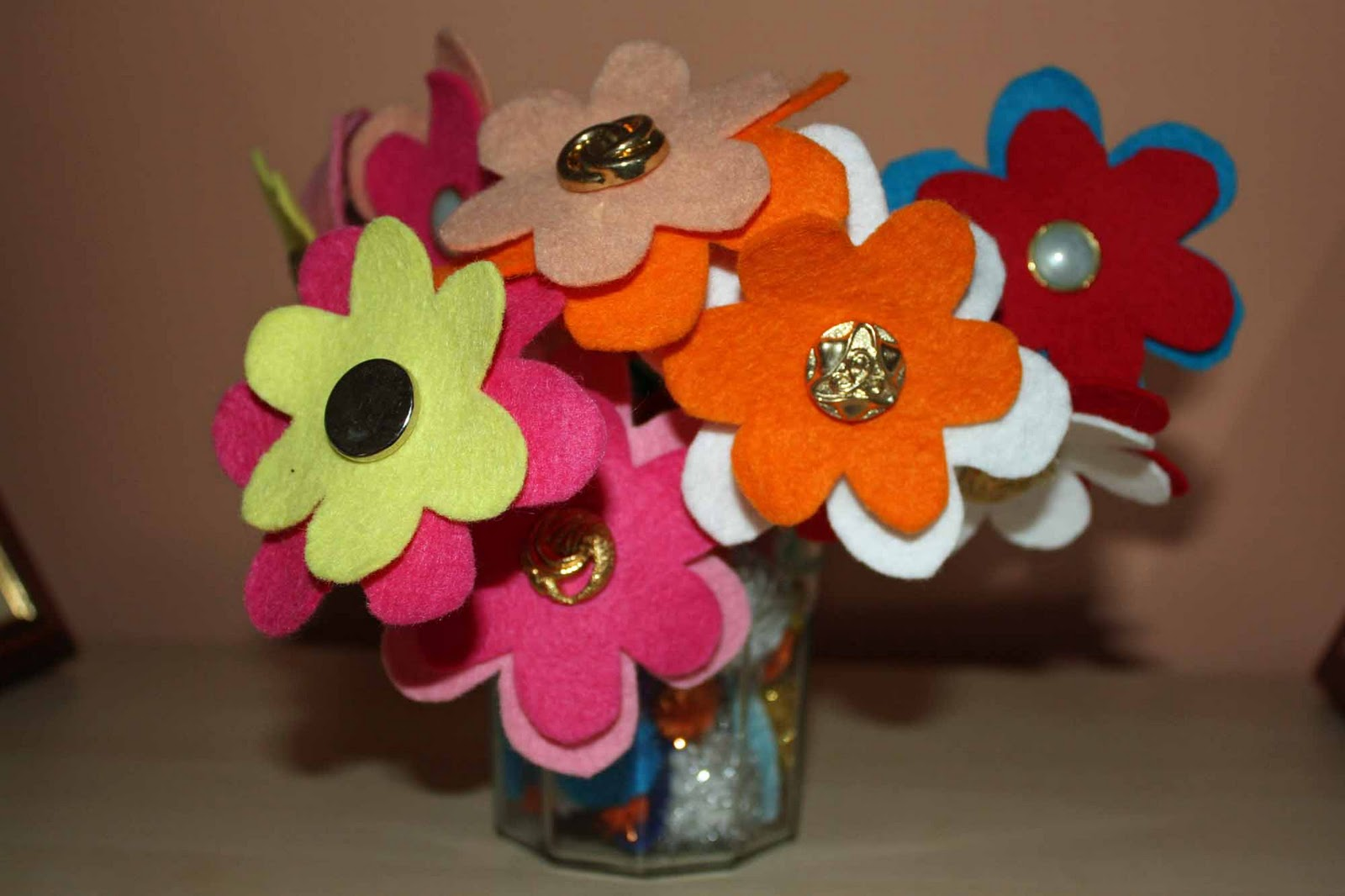 craft and activities for all ages an easy felt flower to
