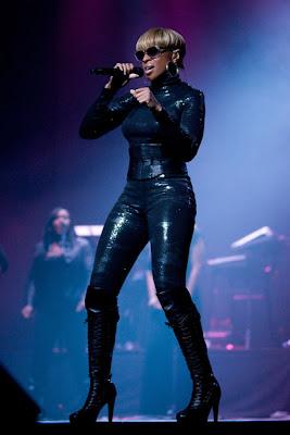 News // Mary J. Blige en live à Séoul