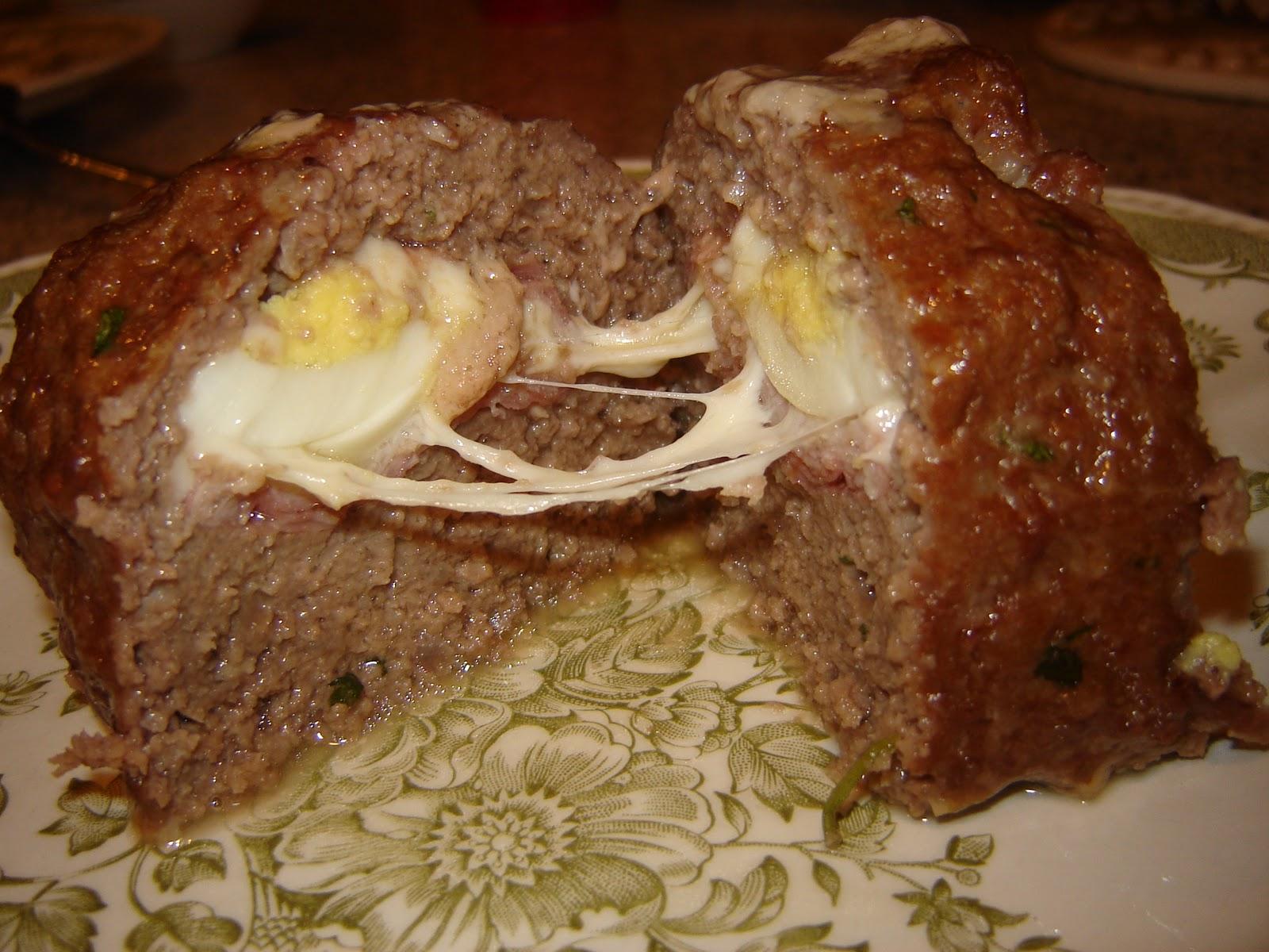 Cucina Nanette: Italian Stuffed Meatloaf