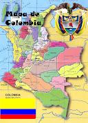 Mapa, Escudo y Bandera actual de Colombia. Bibliografias: (mapa actual de colombia)