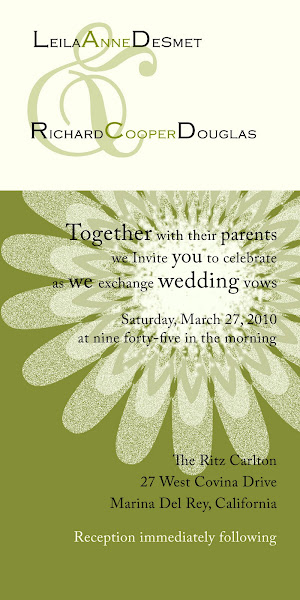 Chateau Wedding Invitation