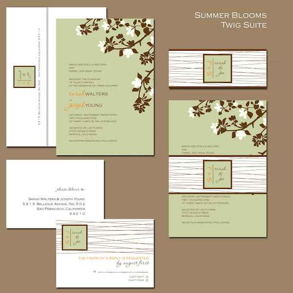 Twig Suite Wedding Collection
