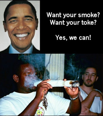 Barack Obama wants to legalize marijuana