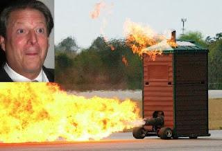 Al Gore Jet Outhouse