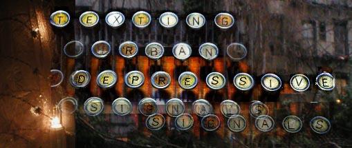 Texting: Urban Depressive Signals