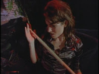 Vanessa Van Helsing with stake