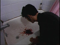 obligatory blood puke