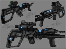 ASSAULT RIFLE CONCEPT DESIGN