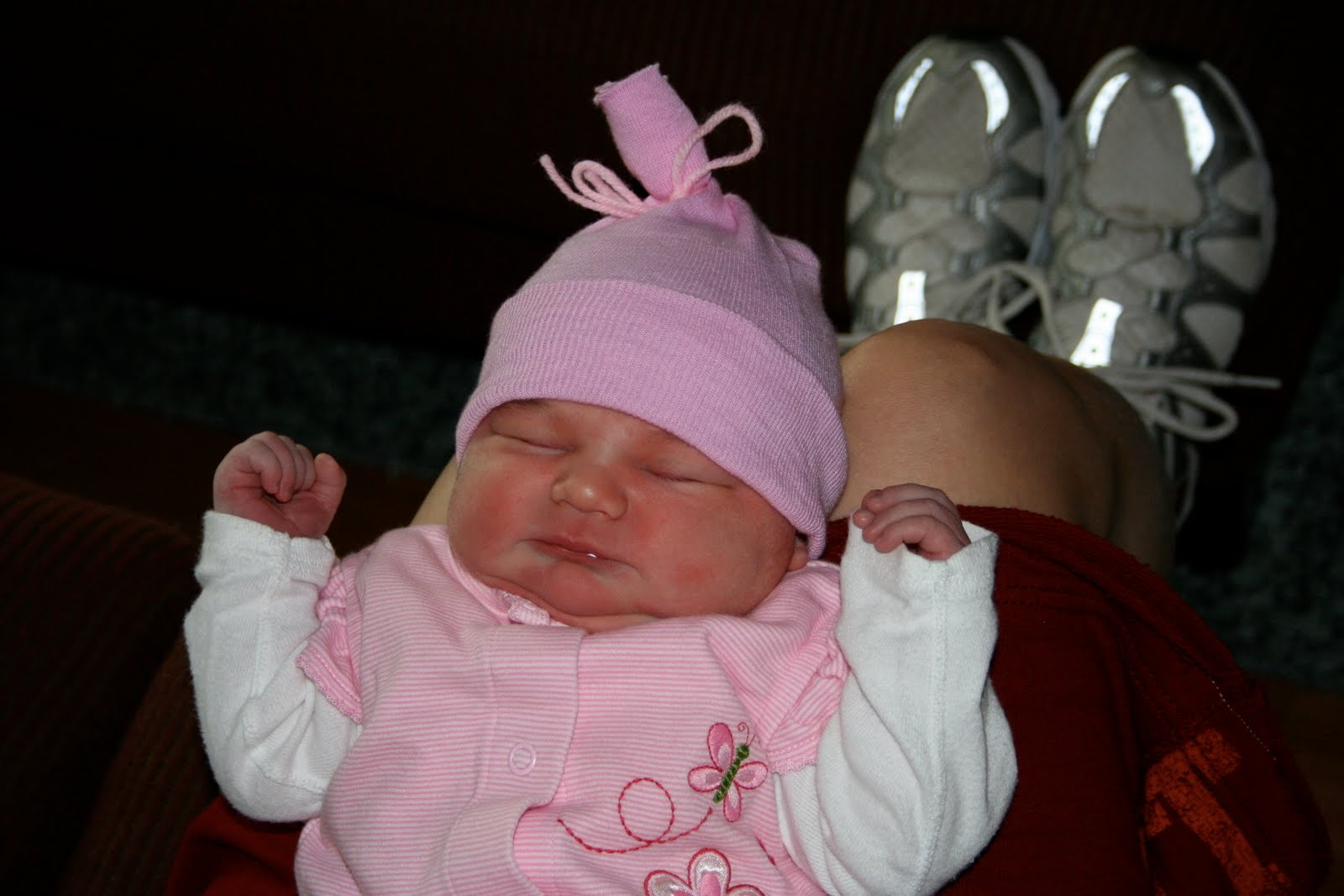 Year 1 Day Old Baby Girl Photo