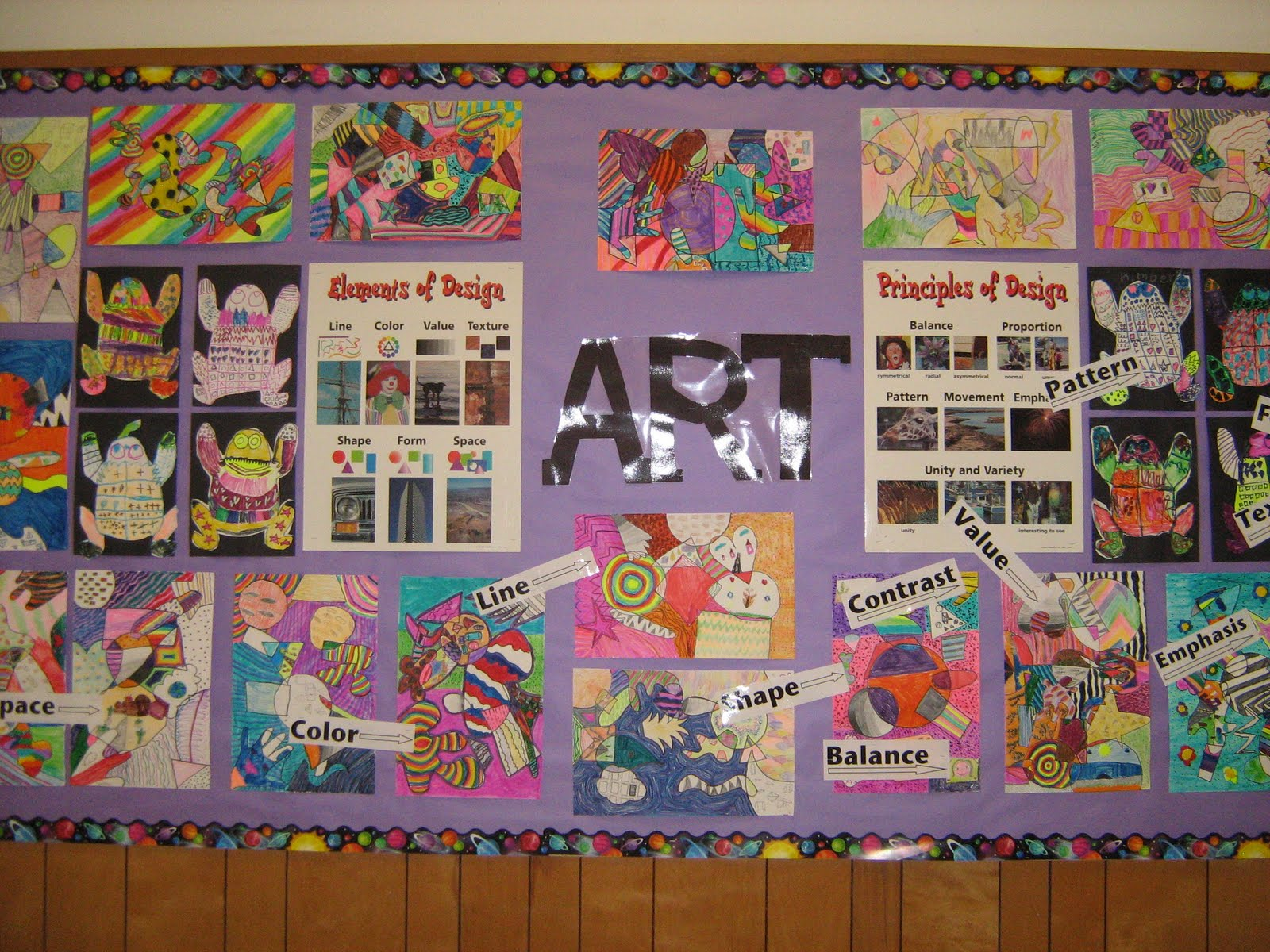 Principles Of Art Variety : Mrs. levine's elementary art blog: elements and principles of