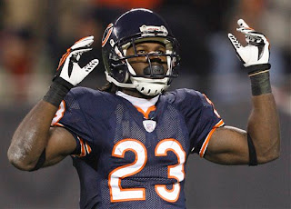 Devin Hester, the Windy City Flyer