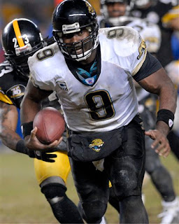 David Garrard's 4th and 2 scramble clinched the game for the Jaguars