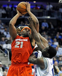 Arinze Onuaku dominated in the paint against Seton Hall