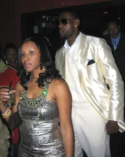 LeBron and his baby mama