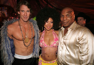 Michael Bay, Hiromi Oshima and Mike Tyson