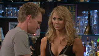 Stacy Keibler guest stars as the hot bartender on How I Met Your Mother