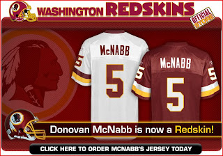 got this e-mail from the Redskins today