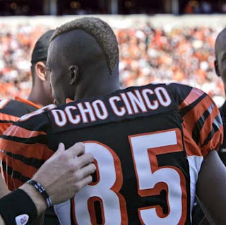 Chad Johnson is now officially Ocho Cinco