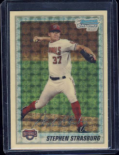 Steven Strasburg 2010 Bowman Chrome Superfractor