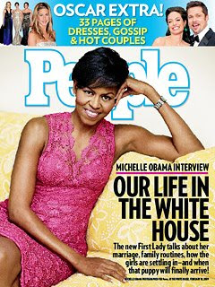 Michelle Obama is pretty, and a good wife, and a tough mother, we get it, enough already