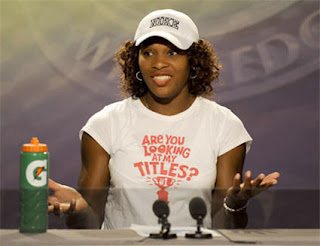 Serena Williams' Are you looking at my titles t-shirt