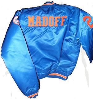 Bernie Madoff's Mets satin jacket