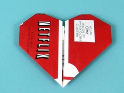 NetFlix Origami Heart