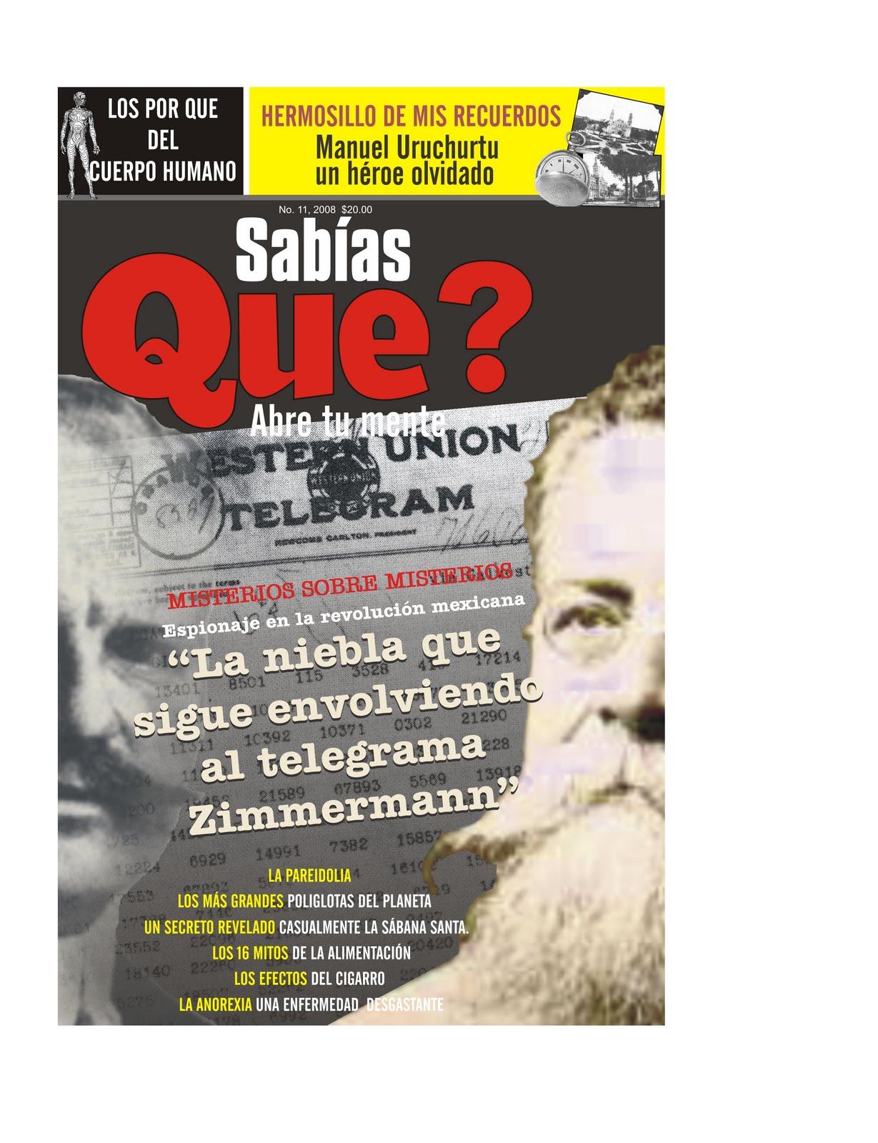 Revista sab as que espionaje en la revolucion mexicana for Portadas de f c e