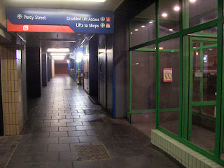 The old Eldon Square Bus Concourse
