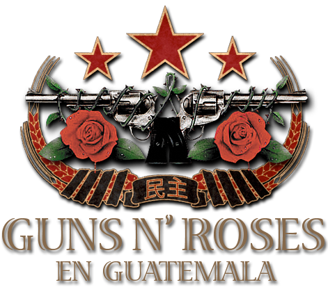 Guns N Roses en Guatemala