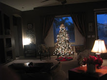 Our Family Room on Christmas Eve