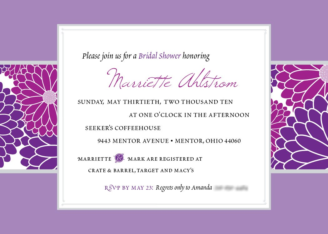 ... from Cloud Nine Designs Bridal Shower Invitation wallpaper