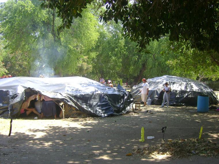 Reunión de grupos étnicos en la Isla de Orabá. Culiacán Rosales