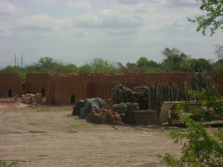 Ladrilleras de la ciudad de Guamúchil, municipio de Salvador Alvarado