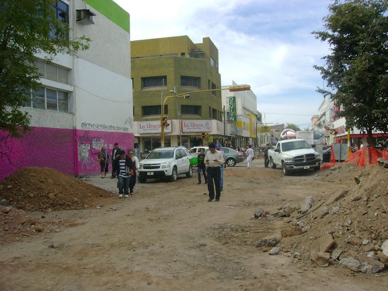Reparación de la calle Rosales