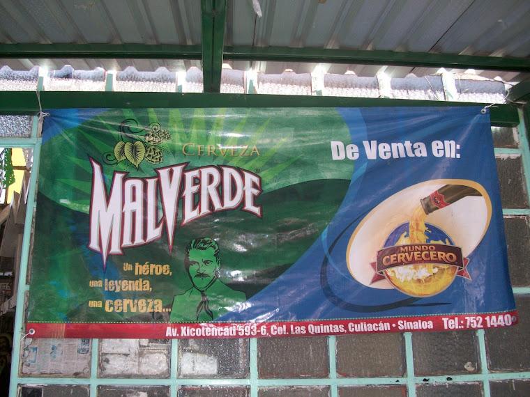 Cerveza milagrosa de Culiacán
