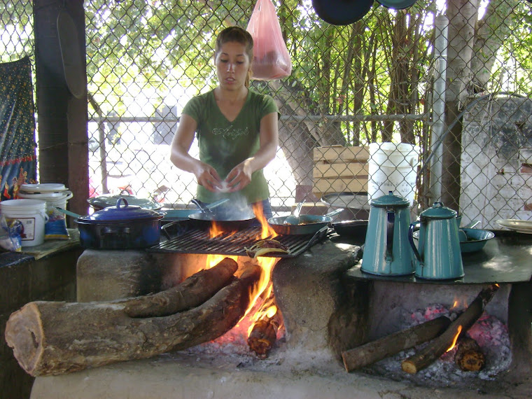 Cocina tipica del ambiente campiramo