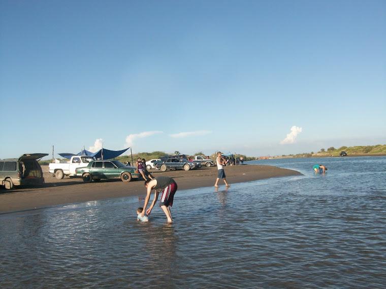 Playa Ponce, Sindicatura de Eldorado por el lado del canal de llamada
