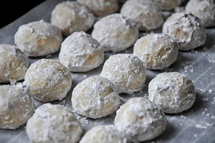 Using A Mini Cookie Scoop, Form The Dough Into Small Balls. Place Them  About 2 Inches Apart On A Parchment Lined Cookie Sheet U0026 Bake For 18  Minutes, ...