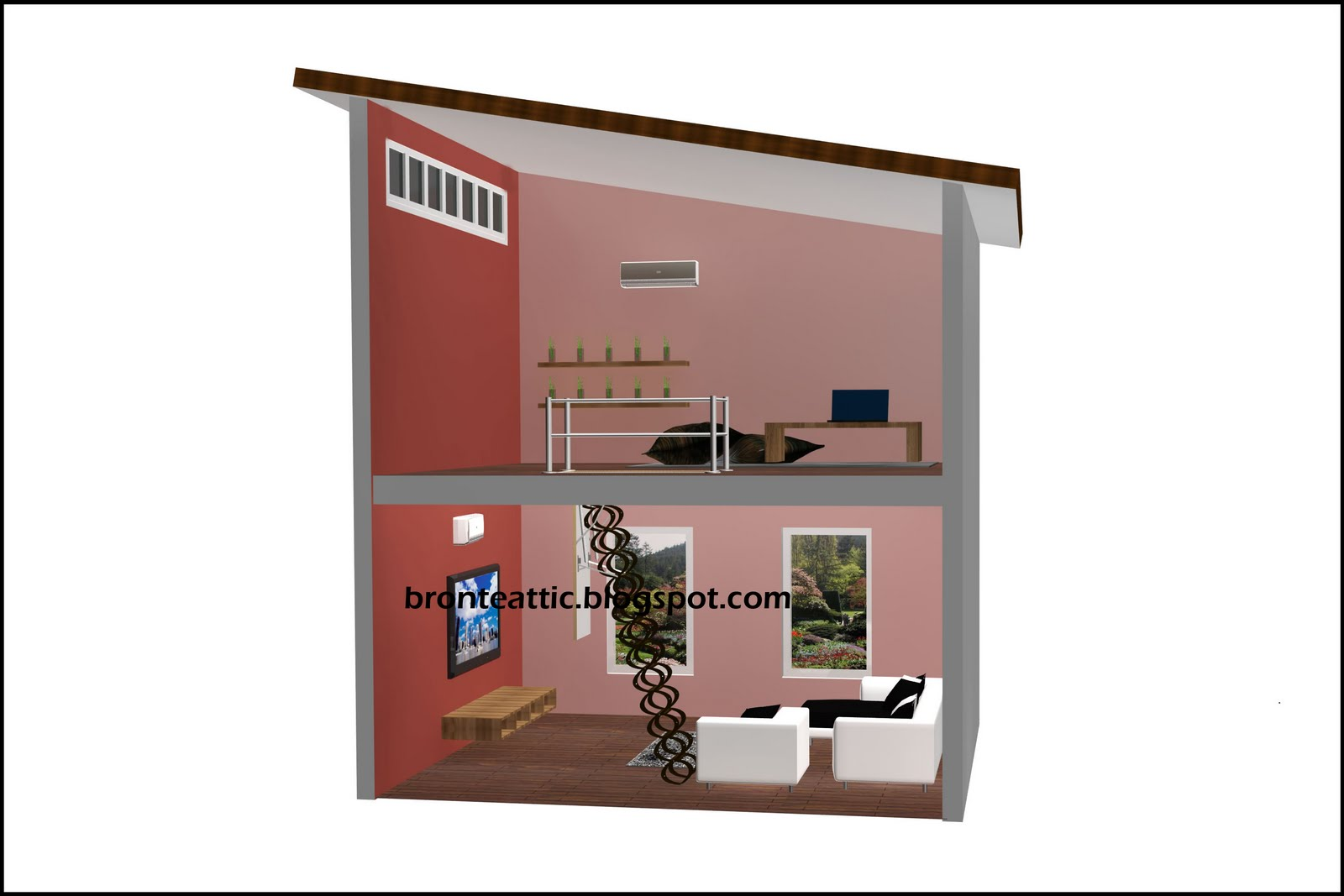 The Way Of Air Well Attic Conversion