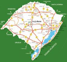 Localização no Estado: