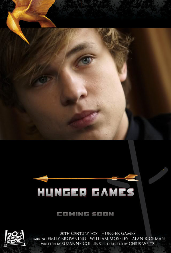 2) Peeta Mellark, son of the District 12 baker and also the boy tribute for