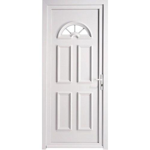 Porte de maison pvc heart