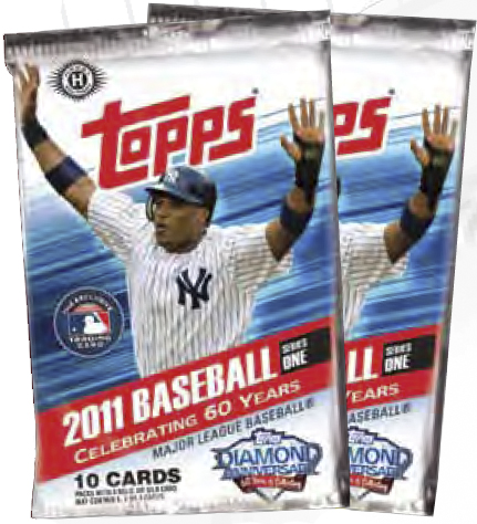 Cards and autographs with 2011 baseball series 1 wrapper redemption